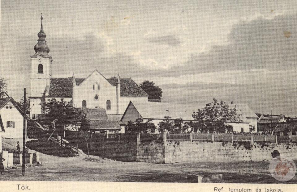 KÉPESLAP REFORMÁTUS TEMPLOM és ISKOLA, 1927 1927