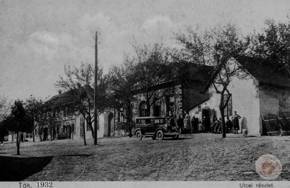 KÉPESLAP, KÚTVÖLGY,  A PLETTLER-HÁZ 1932-ben