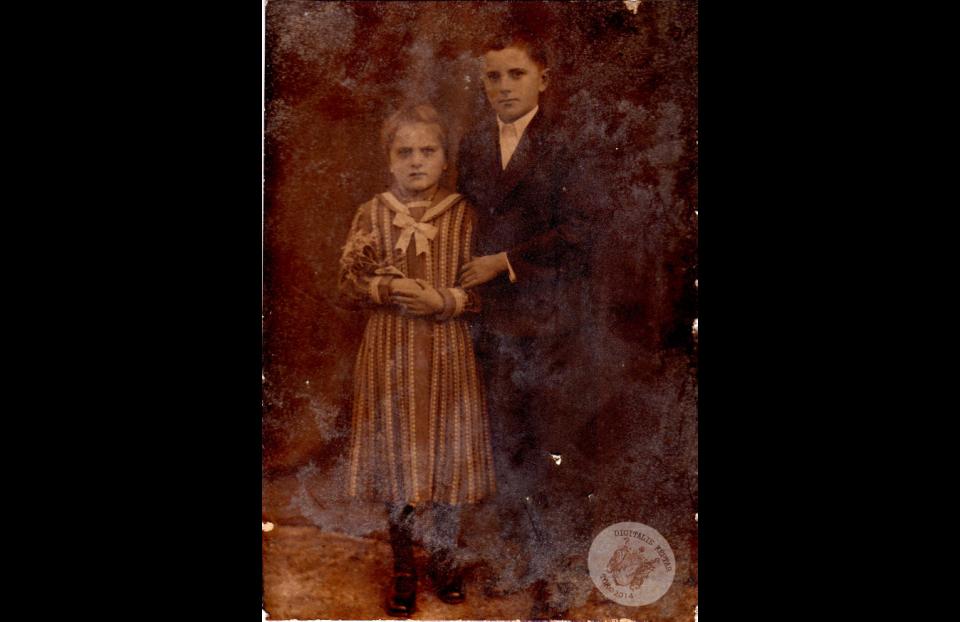 LACZIK GIZELLA és LAJOS, 1933 körül