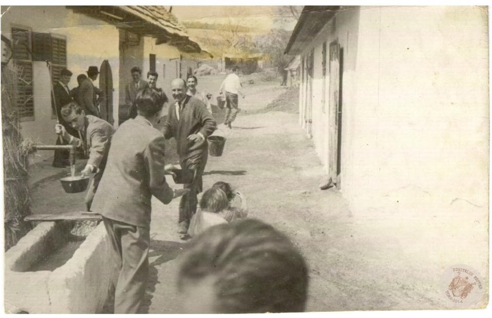 HÚSVÉTI LOCSOLÁS 1962 2.kép