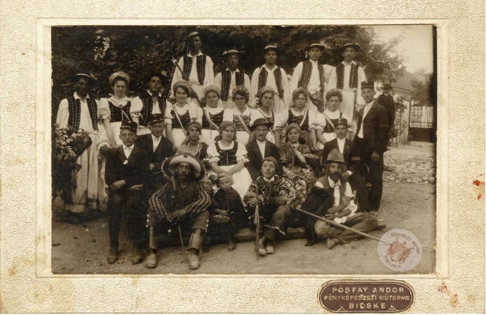 SZÜRETI FELVONULÁS 1920-as évek