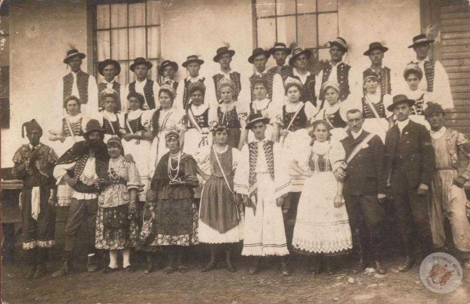 SZÜRETI FELVONULÁS 1923