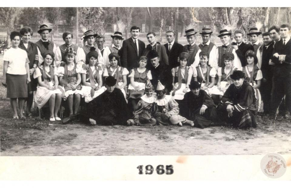 SZÜRETI FELVONULÁS 1965