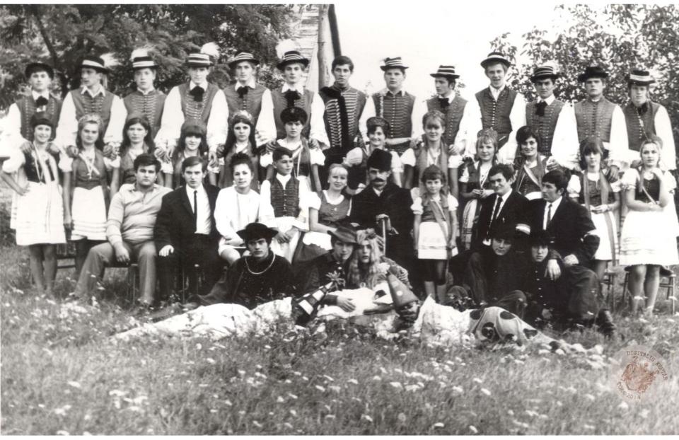 SZÜRETI FELVONULÁS 1970