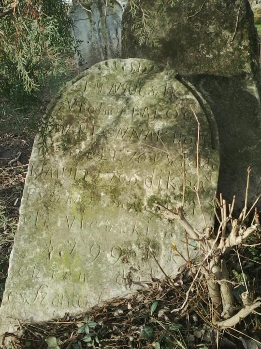 SÍRKŐ  ANNO 1796, 1799