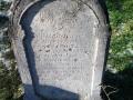 SÍRKŐ  ANNO 1857 (?)