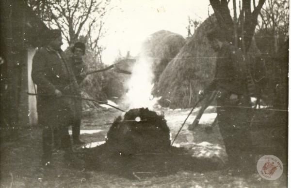 0063 33. Disznóölés az 50-es években Kollár J-nétól
