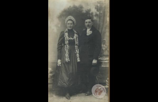 0064 34. Esküvő 1920. Kollár J-nétól