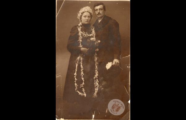 0065 35. Esküvő 1927. Kollár J-nétól