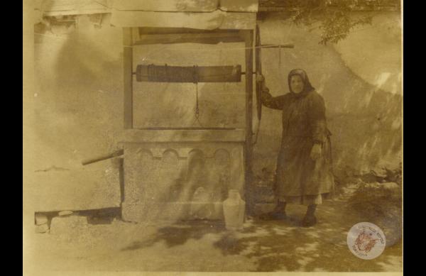 0066 39. Kerekeskútnál az 50-es évek közepén Kollár J-nétól