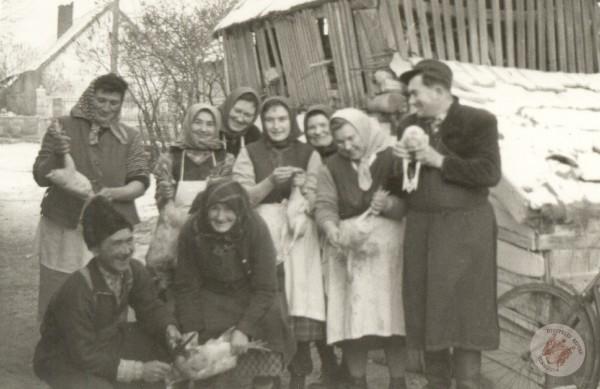 0070 43. Lakodalom előtt 1962. Kollár J-nétól