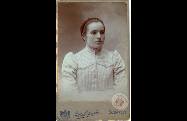 0071_45. Veres Mária 1908 k. Kollár J-nétól