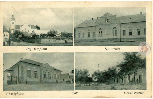 0101 Középületek 1935 körül Szabó Zoltán