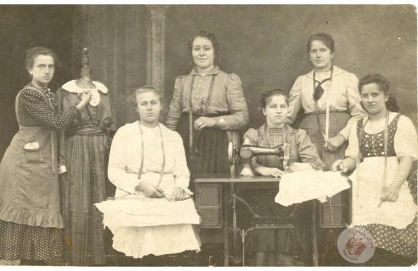 0114 Varró kör 1921 k. Komlós I-nétől