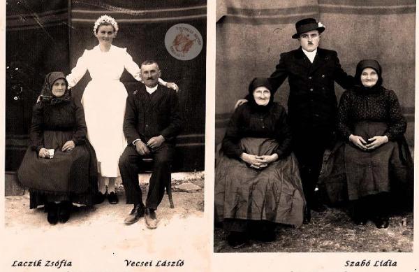 Laczik Zsófia, Vecsei László, Szabó Lídia